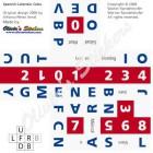 Calendar cube Spanish