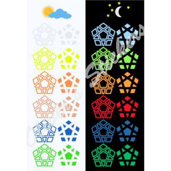 Glow in the dark Megaminx 6 color LIMITED! Please read product info!