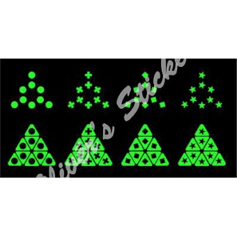 Glow in the dark Pyraminx 2