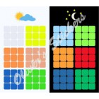 Glow in the dark 3x3x3 6 color Standard S