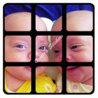 Photo cube stickers