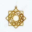 Interlacing Squares Pendant
