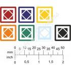 Grigr's Skewbic stickers (10 mm skewb)