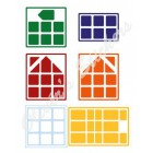 3x3x3 Cube house cube color