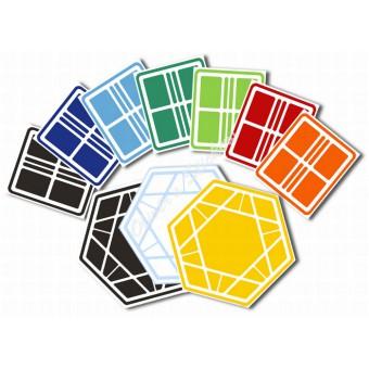 Greg's Mini-Split Hexagonal Domino